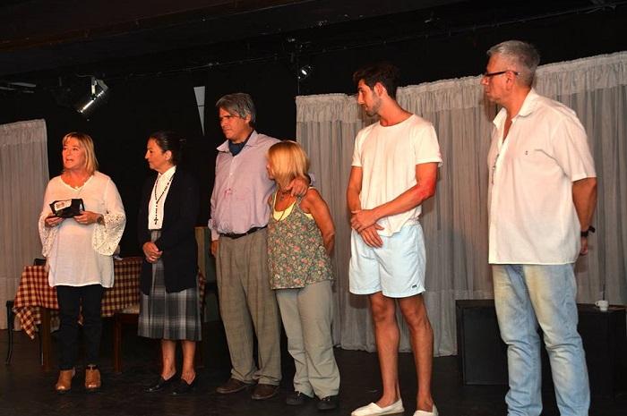 """Teatro por la Inclusión: Derechos Humanos distinguió a """"Paternoster"""""""