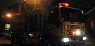 Se incendió una reconocida parrilla en la zona de Güemes