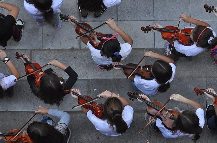 La Orquesta Infanto Juvenil cierra el año con un show gratuito