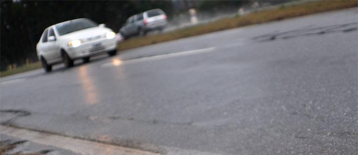 Ruta 226: camioneta atropelló a un motociclista y escapó