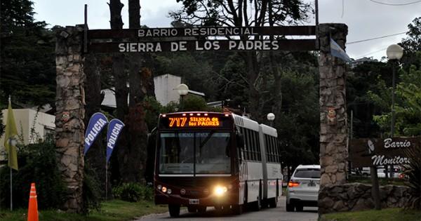 Sierras: por el estado de las calles, hay problemas con los colectivos