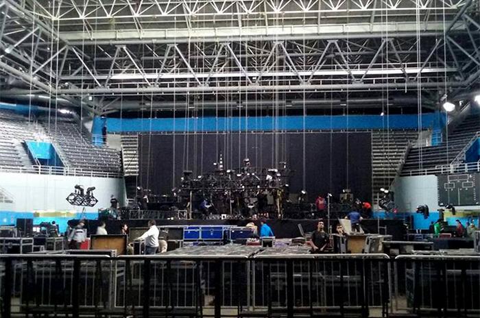 Ricky Martin: dos horas de show, 250 luces y cinco pantallas