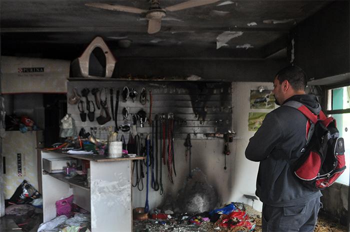 Las consecuencias del escape de gas y el fuego