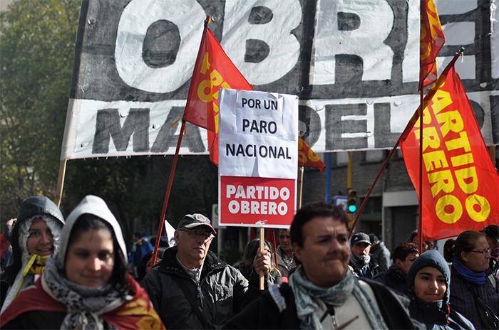"""Más protestas frente al Municipio: """"No vamos a permitir el ajuste"""""""