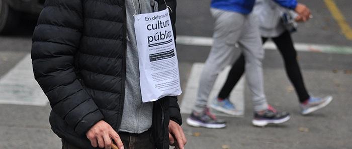 """Crisis en Cultura: """"Nos obligaron a trabajar sin contrato"""""""