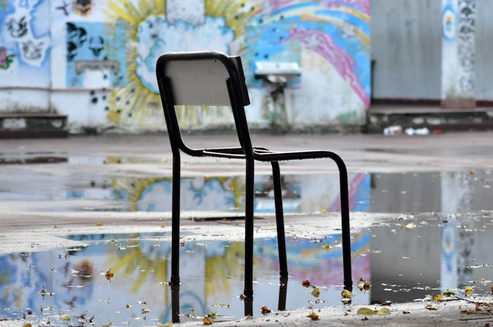 Por la lluvia, varias escuelas suspendieron las clases