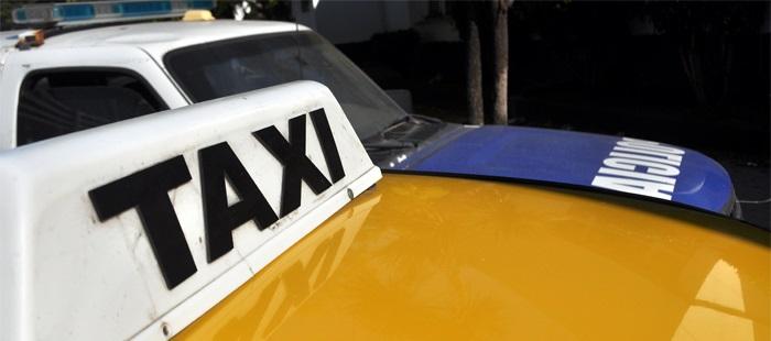 Amenazaron con un cuchillo y le robaron a un taxista: detenidos
