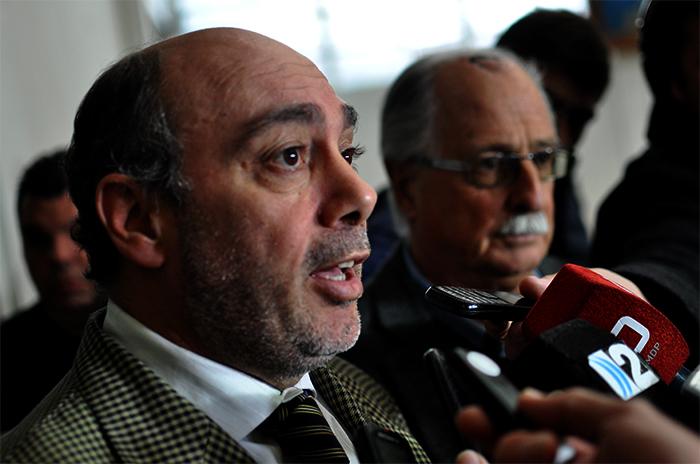 """Vicente, interpelado por el HCD: """"Rossi no fue desplazado"""""""