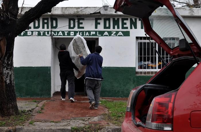 EVACUADOS DONACIONES SOCIEDAD DE FOMENTO BARRIOS LLUVIA 01
