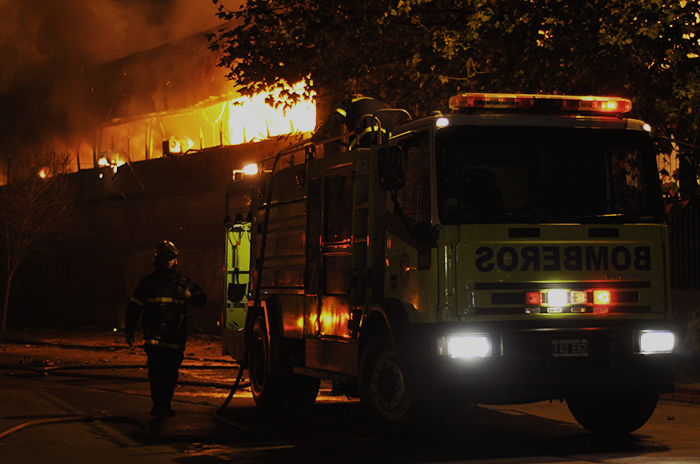 Caromar: el incendio se produjo por un desperfecto eléctrico