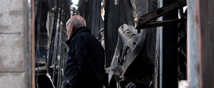 """Incendio en Caromar: """"Veremos si podemos construir de vuelta"""""""