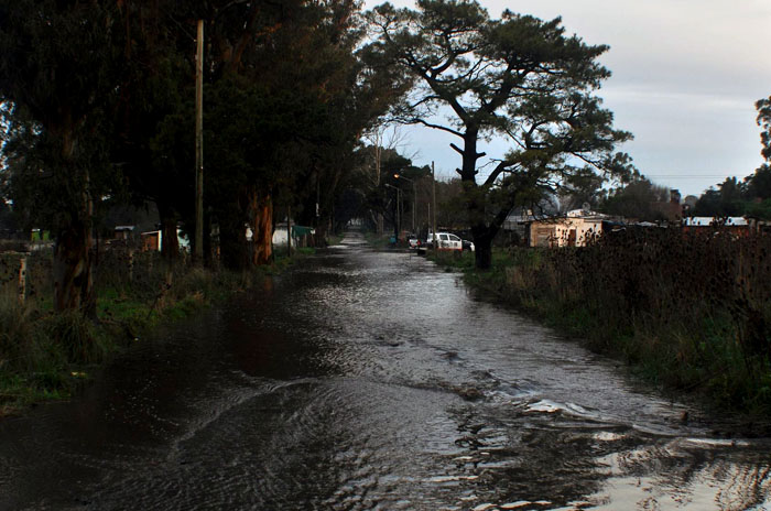 Inundación Lluvia Parque Hermoso