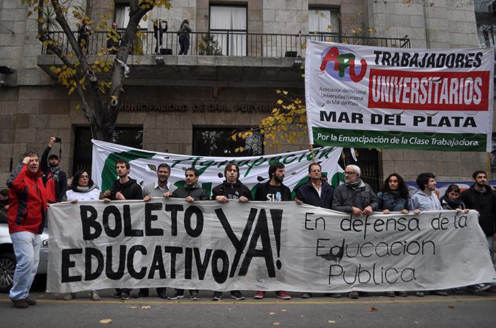 """Por el Boleto Universitario: """"Insistiremos con la reunión"""""""