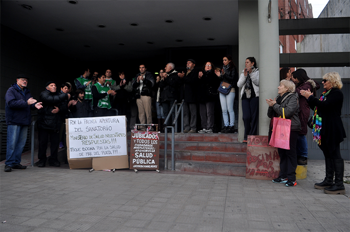 """Por el Eva Duarte: """"Blanco no apuesta a la salud pública"""""""