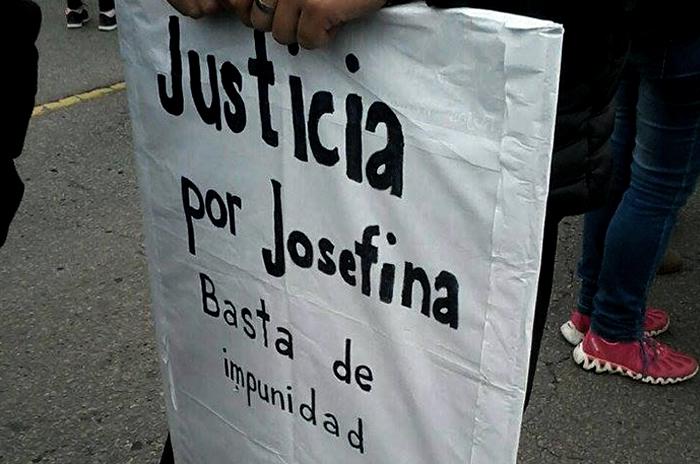 """""""Josefina quiere seguir su vida, el abusador tiene que estar preso"""""""