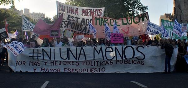#NiUnaMenos: 800 denuncias mensuales por casos de violencia