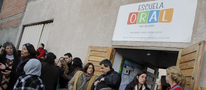 """La Escuela Oral, en crisis: """"No llegamos al mes que viene"""""""