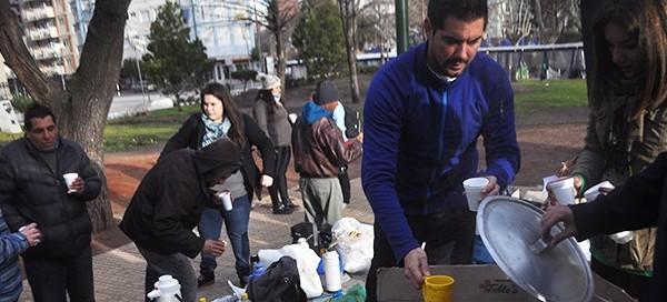 Día del Amigo: un desayuno caliente y mucha solidaridad