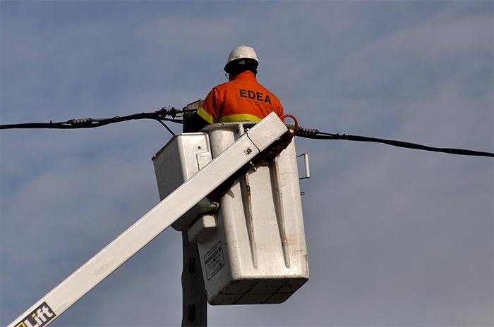 EDEA realizará cortes de luz por mantenimiento