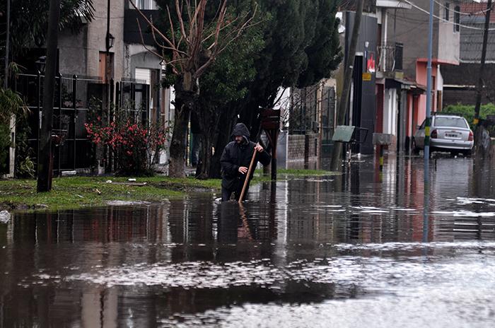 Son 19 los evacuados por el temporal de lluvia