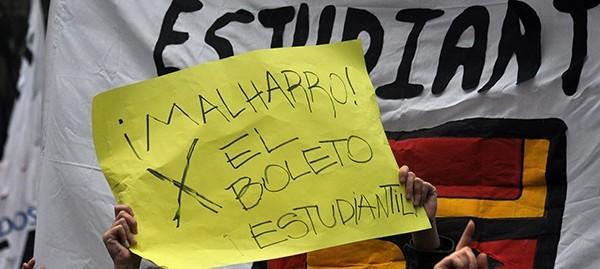 Boleto universitario: estudiantes piden avances en el Concejo