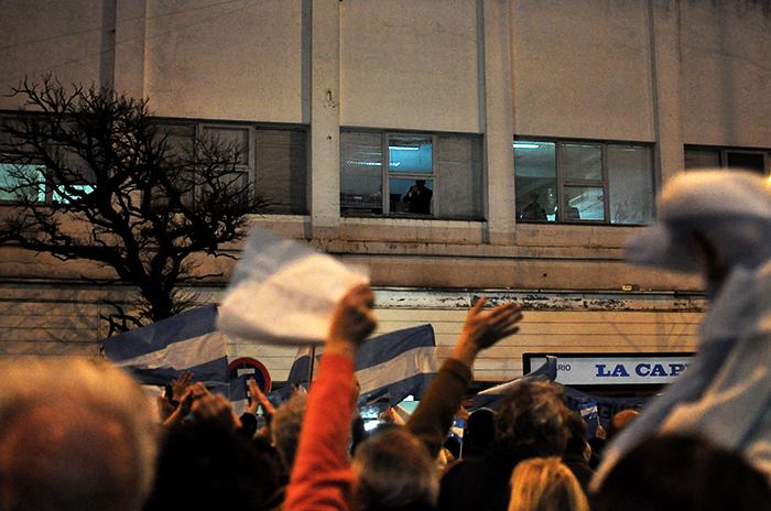 Tras su pedido, marplatenses respaldaron al juez López