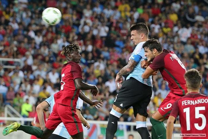 Argentina cayó en el debut olímpico ante Portugal