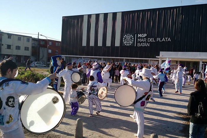 """Centenario: """"Banderazo cultural"""" por la apertura del Polideportivo"""