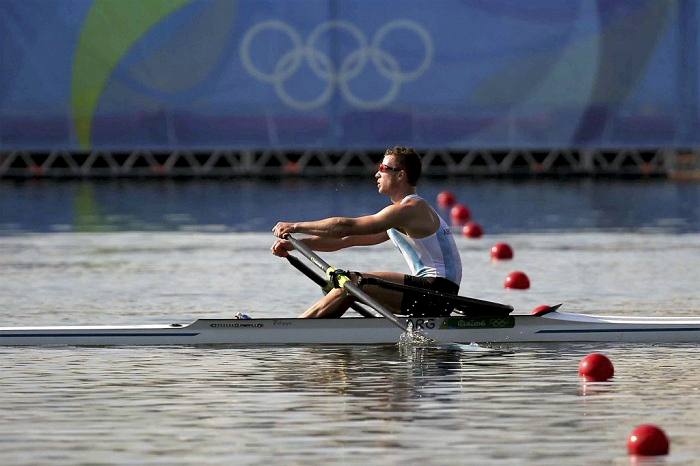 Brian Rosso en los Juegos Olímpicos de Río 2016 (Foto: Télam)