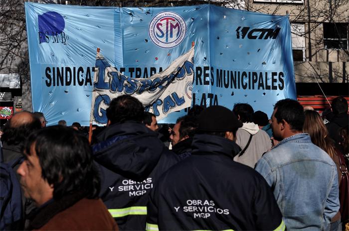 """Paro de municipales: """"El responsable es Arroyo"""""""