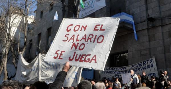 Municipales: el gobierno pagará otra vez los sueldos desdoblados