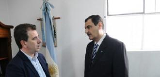 Ritondo visitó y respaldó al juez López, que ya dejó la causa