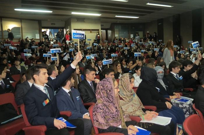 Simulacro educativo: la ONU se reúne en Mar del Plata