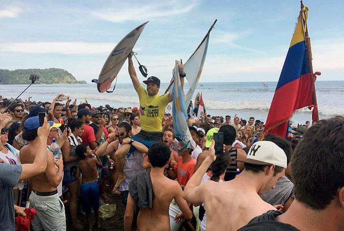 Surf: el equipo argentino empieza su camino en el Mundial