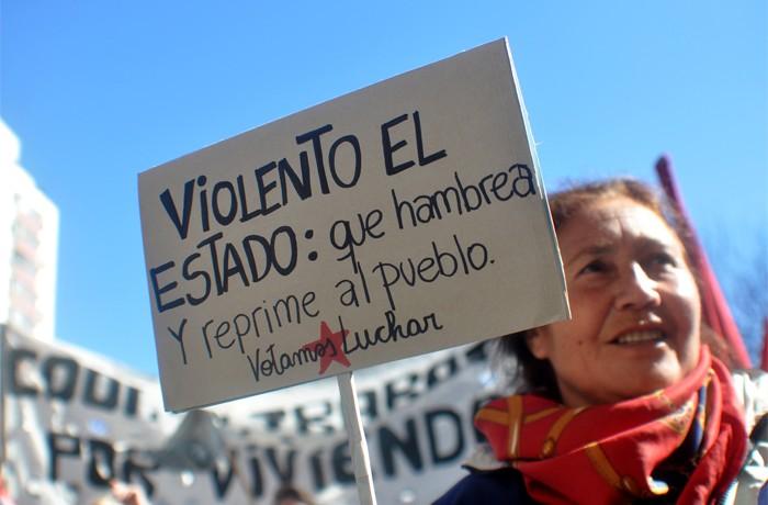 VOTAMOS LUCHAR PROTESTA JUEZ LOPEZ CORREPI INCIDENTES MACRI  (11)