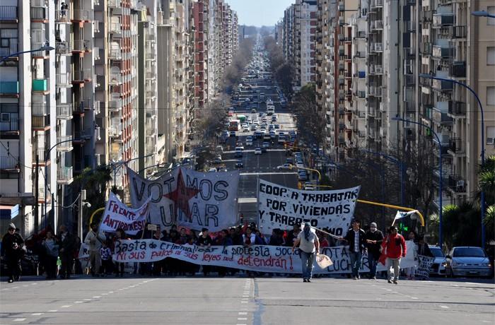 VOTAMOS LUCHAR PROTESTA JUEZ LOPEZ CORREPI INCIDENTES MACRI  (12)