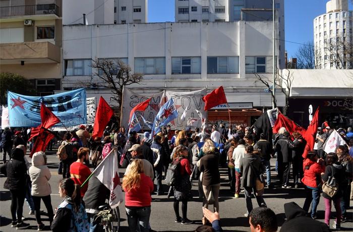 VOTAMOS LUCHAR PROTESTA JUEZ LOPEZ CORREPI INCIDENTES MACRI  (5)
