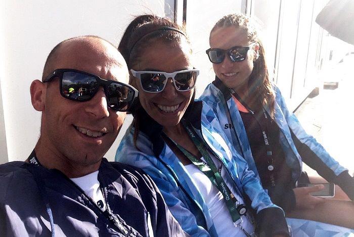 Casetta, Peralta y Mastromarino ya están en Río