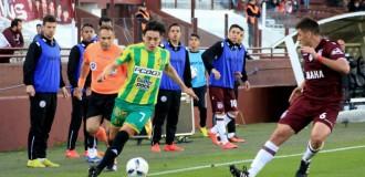 Aldosivi aguantó y logró un empate ante Lanús