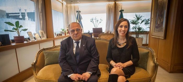 Arroyo le pidió apoyo económico a Vidal y al Banco Provincia
