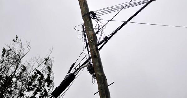 Temporal en Mar del Plata: cortes de energía en algunas zonas
