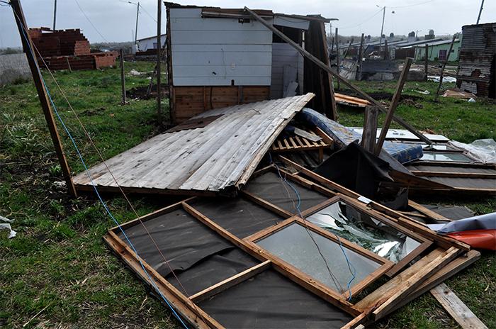 Temporal: hay familias que aún esperan ayuda oficial