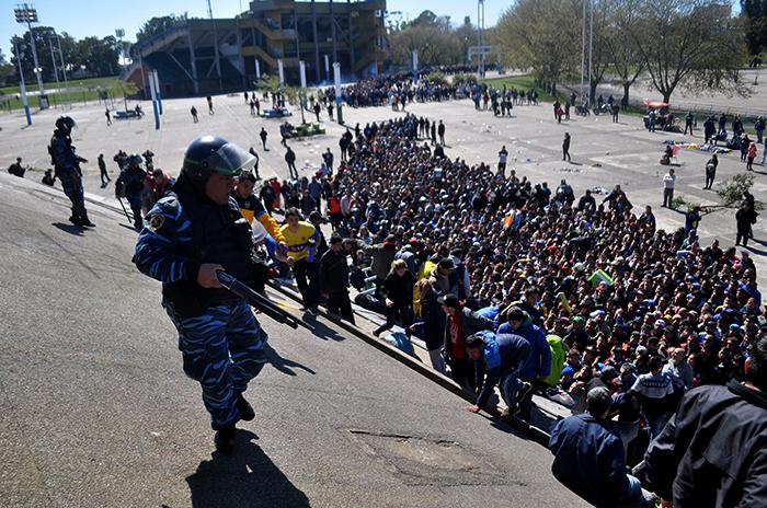 Superoperativo: 1100 policías para el Boca-River
