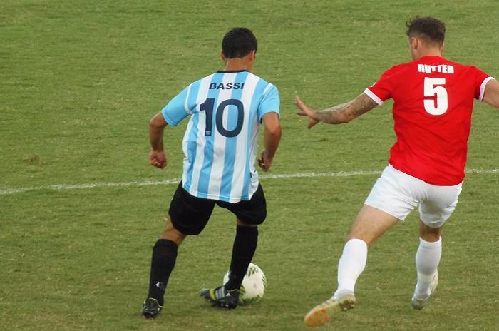 Con Matías Vera en la Selección, comienza el Mundial de Fútbol 7