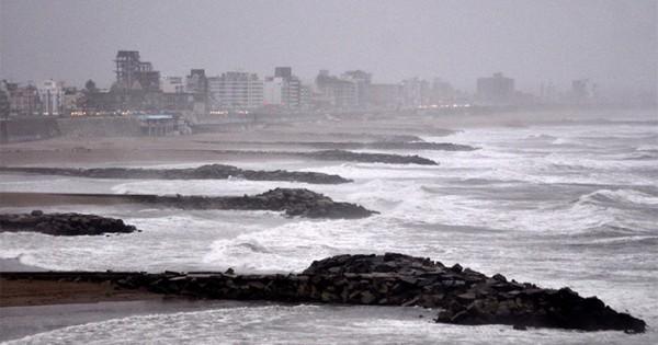 Emiten un alerta meteorológico por lluvias y vientos intensos en Mar del Plata