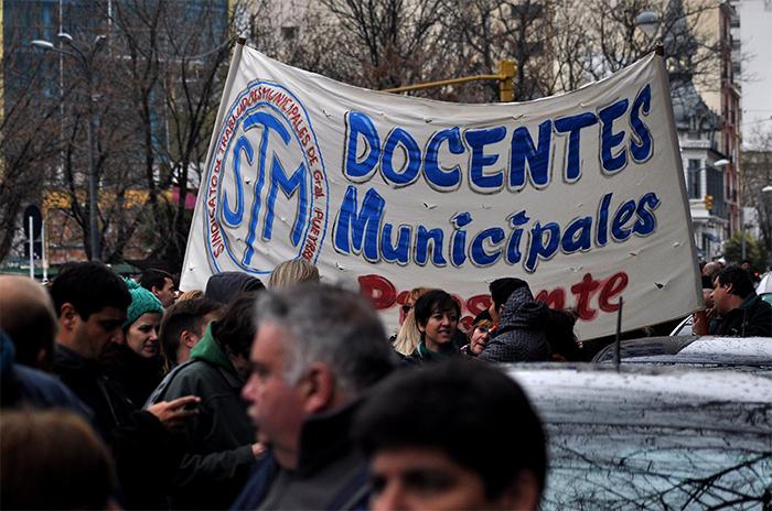 """Escuela 205: municipales, contra la """"incapacidad"""" de Crovetto"""