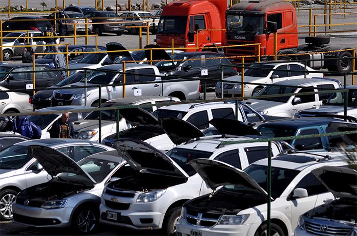Operativo lavado total: 205 vehículos secuestrados y 8 personas detenidas