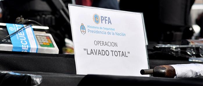 Operativo Lavado Total: un nuevo detenido, en Santa Cruz
