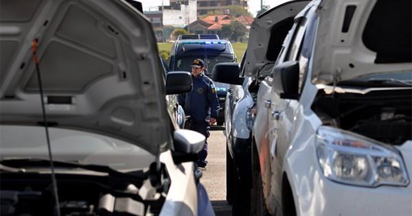 Lavado Total: entregarán vehículos a las fuerzas de seguridad