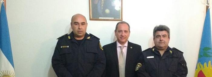 Fabián Domski asumió como superintendente de Policía